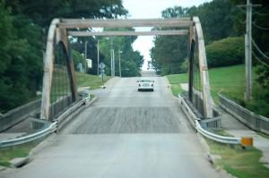 Old Wooden Bridge in Nebraska City
