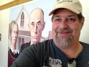 Sumoflam at American Gothic House Center in Eldon, IA