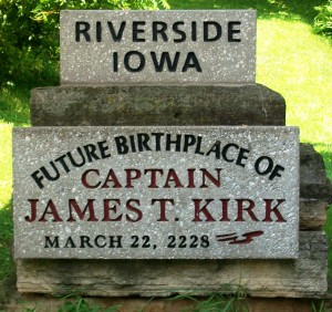 Future Birthplace of James T. Kirk