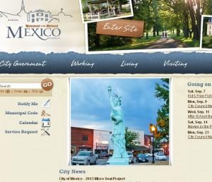 Mexico Web Page