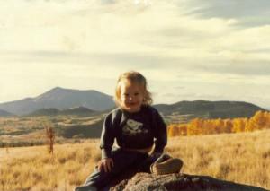 Amaree near San Francisco Peaks in North Arizona 1981