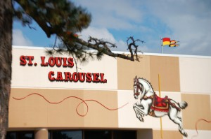 St. Louis Carousel Building in Faust Park, Chesterfield, MO