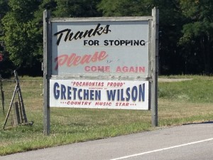 "Pochahontas, IL - ""Pokey"" - Home of Country Singer Gretchen Wilson (Gimme a Hell Ya!)"