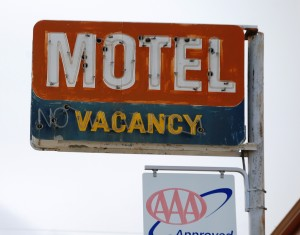 Generic Motel Sign - Shelby, Montana