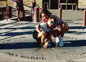 Our youngest Solomon and Marissa get themselves in four states at once at Four Corners