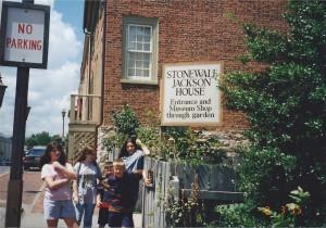 Stonewall Jackson House in Lexington, VA