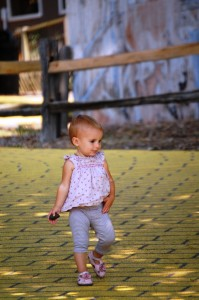 Lyla follows in the footsteps of her cousin Autumn by following the Yellow Brick Road Champaign, IL