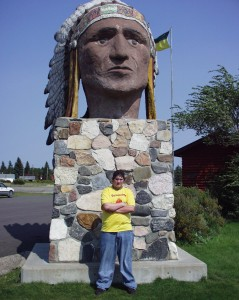 Solomon at Indiana Head, Saskatchewan Sept 2007