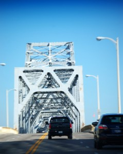 Clark Memorial Bridge from Louisville to Clarksville and Jeffersonville, IN